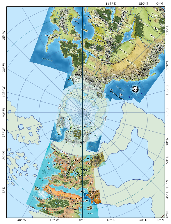 Dungeonetics: Golarion Geographical Maps